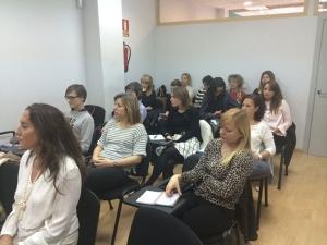 asistentes taller de Gestión del Estrés