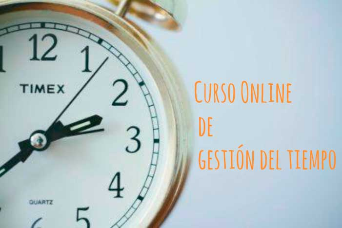 Curso Online de gestión del tiempo