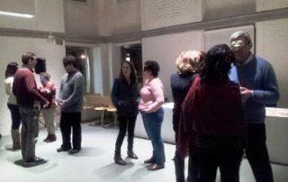 Nuestros participantes del taller de experiencia sensorial